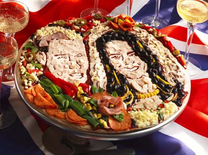 BRITAIN - Royal Wedding Pizza