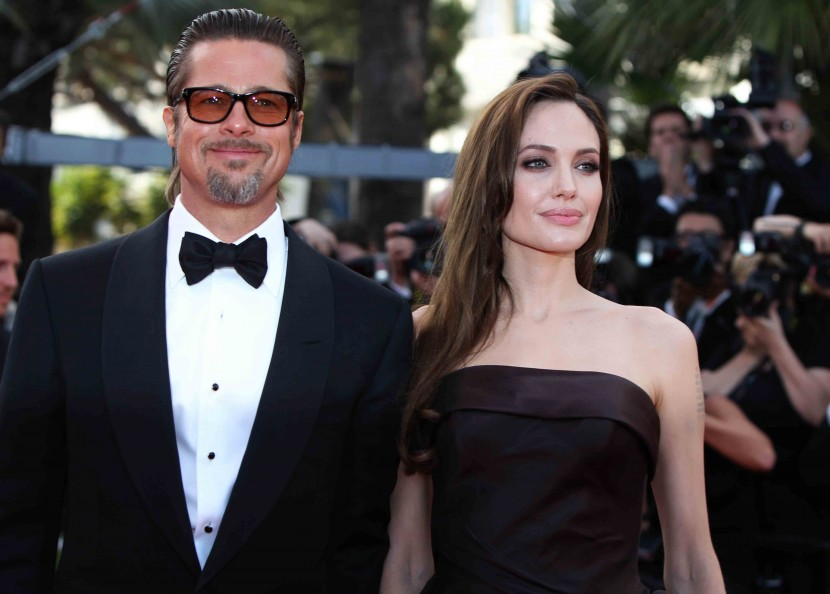 Angelina Jolie supports Brad Pitt at the Cannes Film premiere