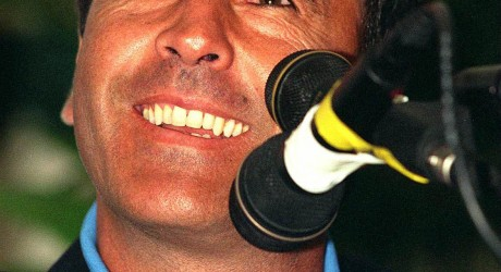 Vintage Seve Ballesteros in happy mood