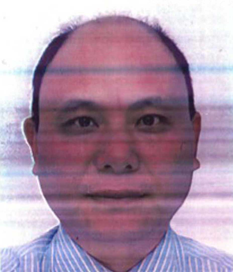 Anxiang (An Xiang) Du (53) former business partner of Helen Chui who police are looking for in relation to the deaths of four people in Northampton.
