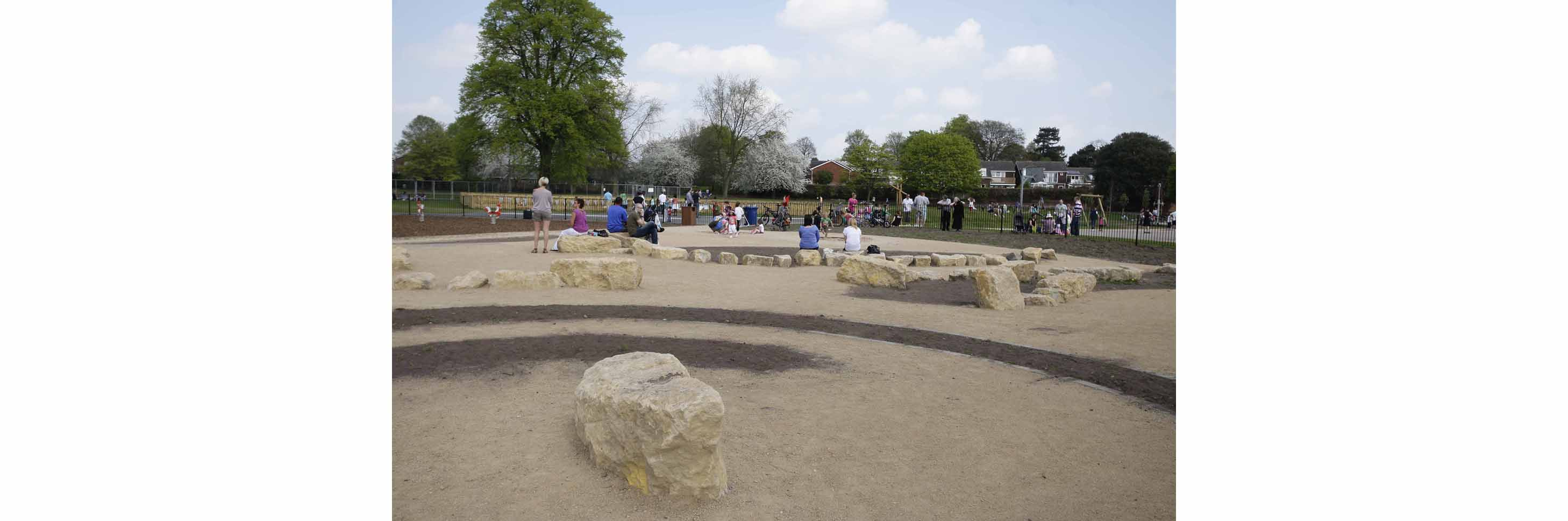 A NEW GBP4 million park criticised for a lack of play equipment has seen FIVE serious child accidents in its first three weeks.