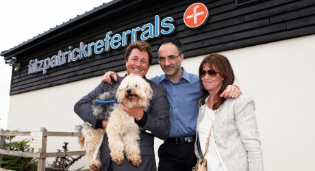 Leading neuro-orthopaedic veterinary surgeon Dr Noel Fitzpatrick  open the world's first luxury animal wards in his Surrey based animal hospital.