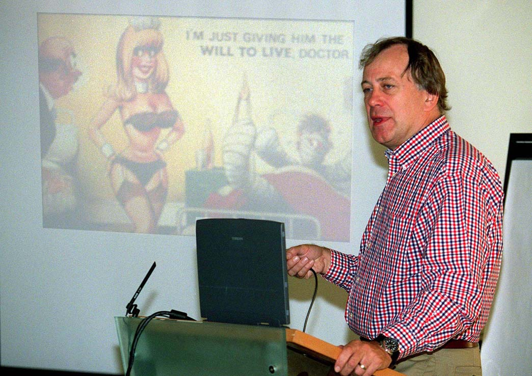 Professor George Castledine