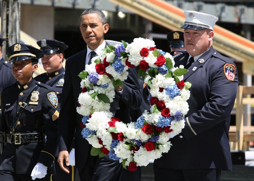 Obama made an emotional return to Ground Zero