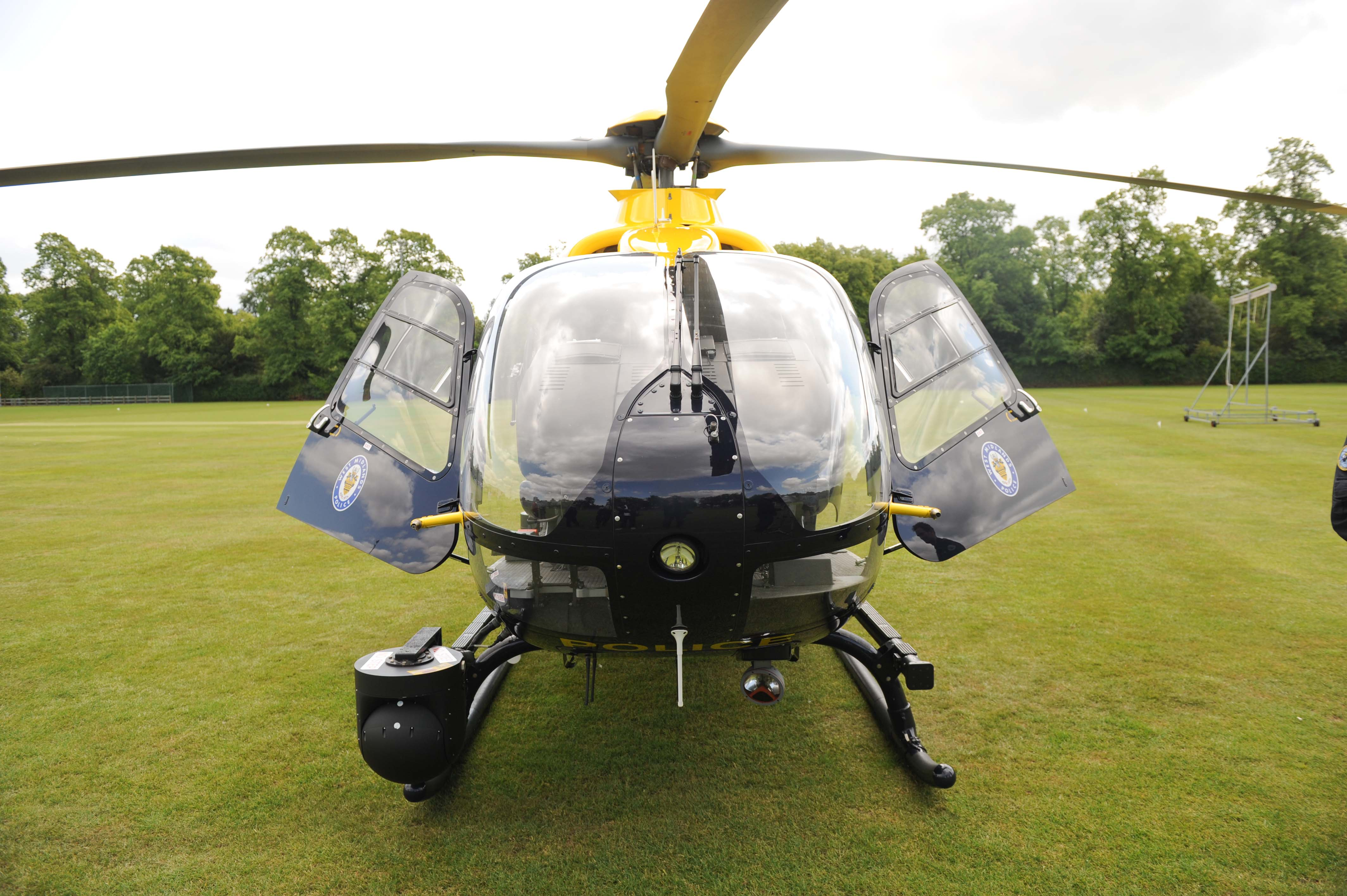 The world's most advanced police helicopter