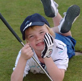 BRITAIN - Young Golfer