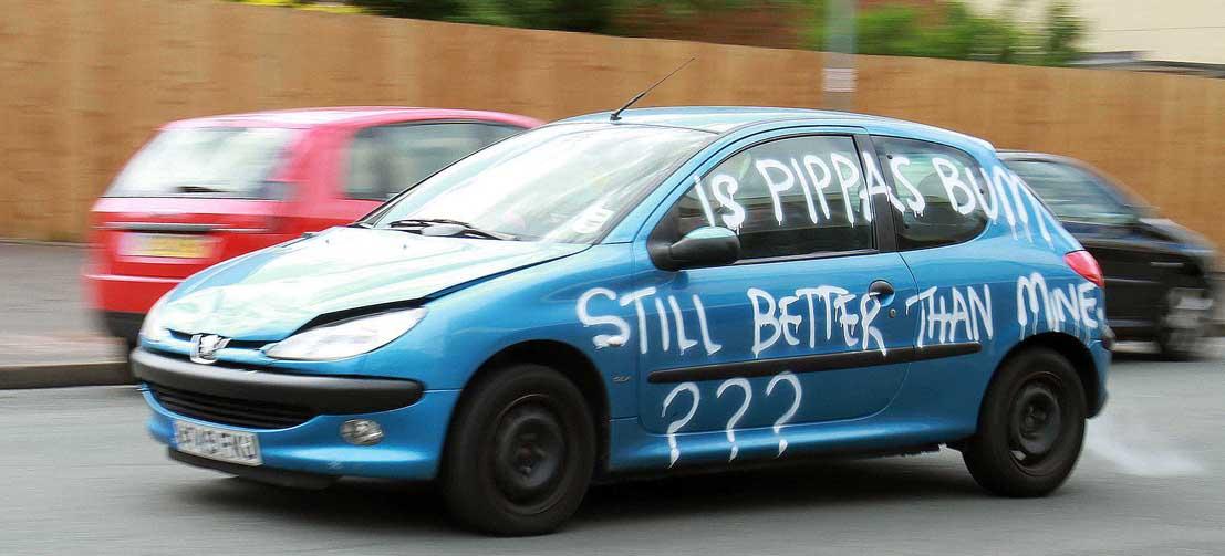 'Is Pippa's Bum Still Better Than Mine?'