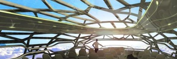 Airbus presents a panoramic view of 2050