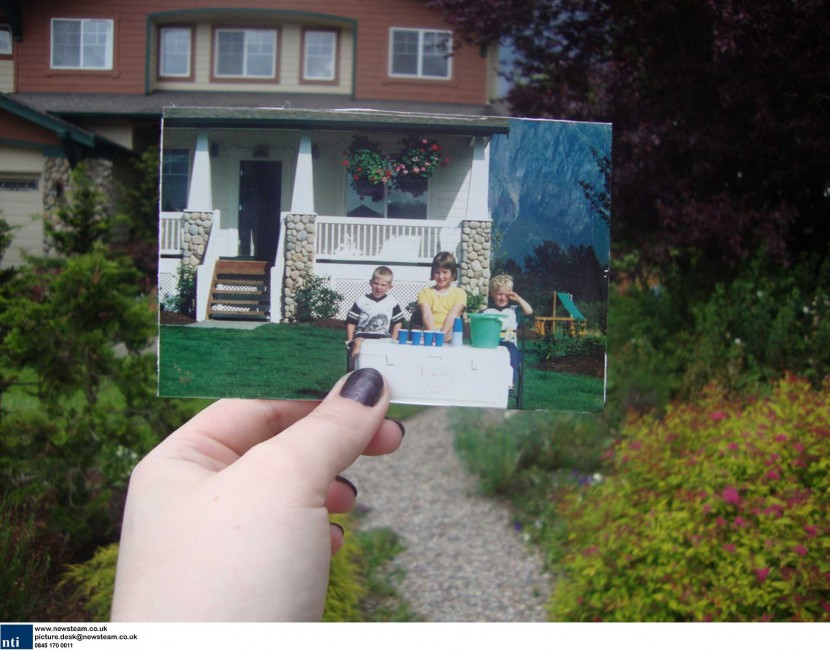 Dear photograph… creative photo's combining past and present