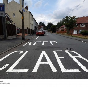 BRITAIN - Keep Claer Road