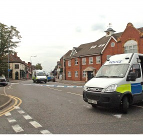 Policed closed the road off as investigations continue