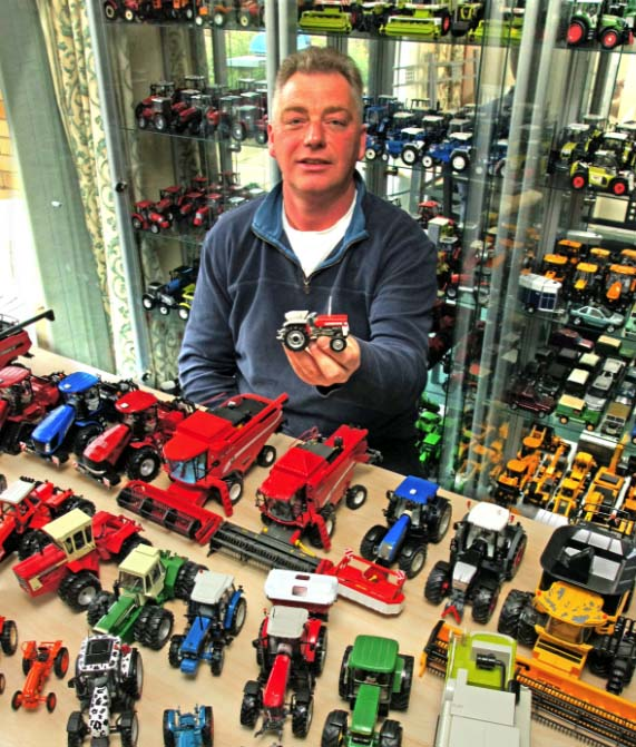 Wacky farmer collects hundreds of tractors