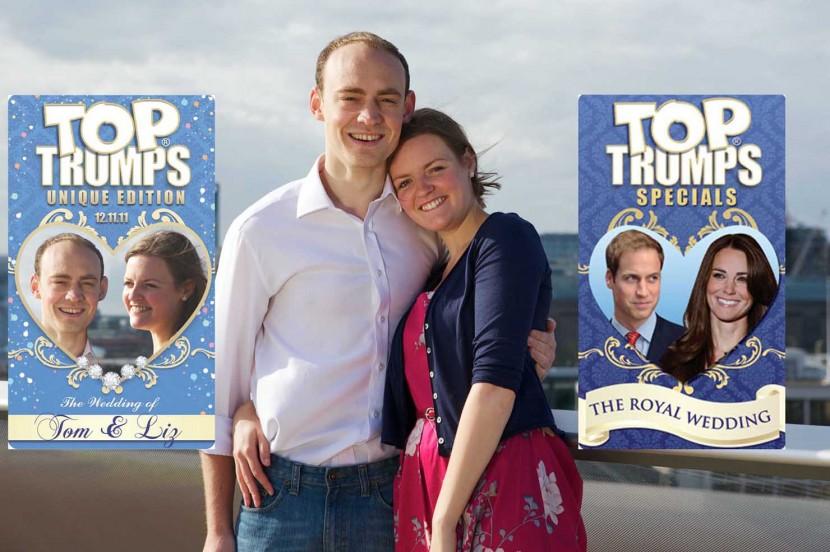 Top trumps wedding