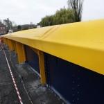 BRITAIN - Yellow bridge