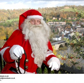 Longest serving Santa in the UK