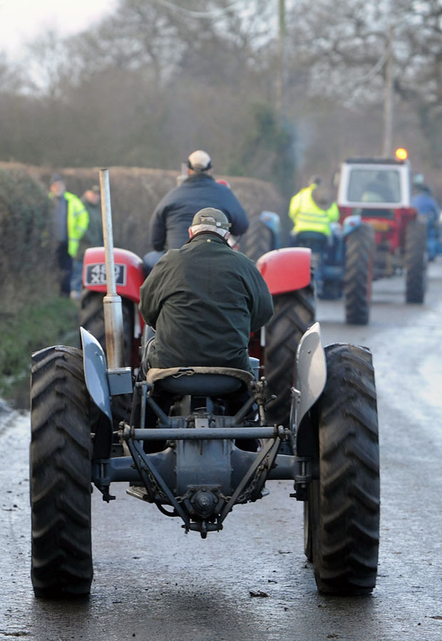 Annual Stafford vintage tractor show