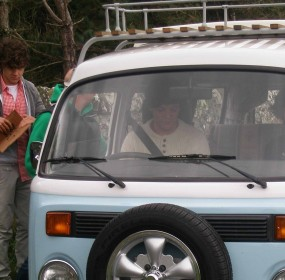 One Direction hired a Volkswagen