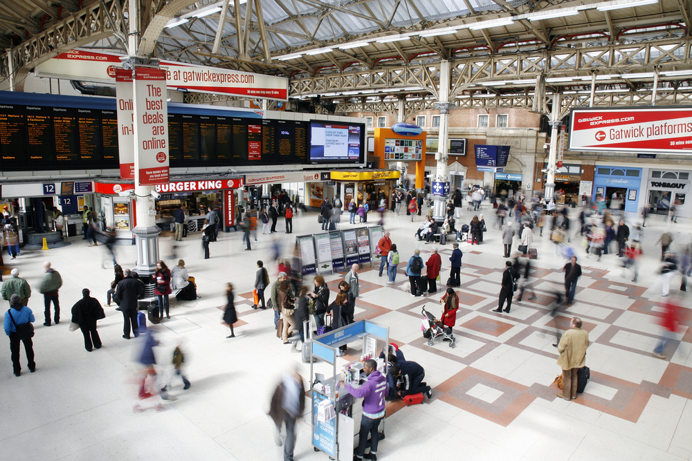 London Victoria reopens following rush hour train fire