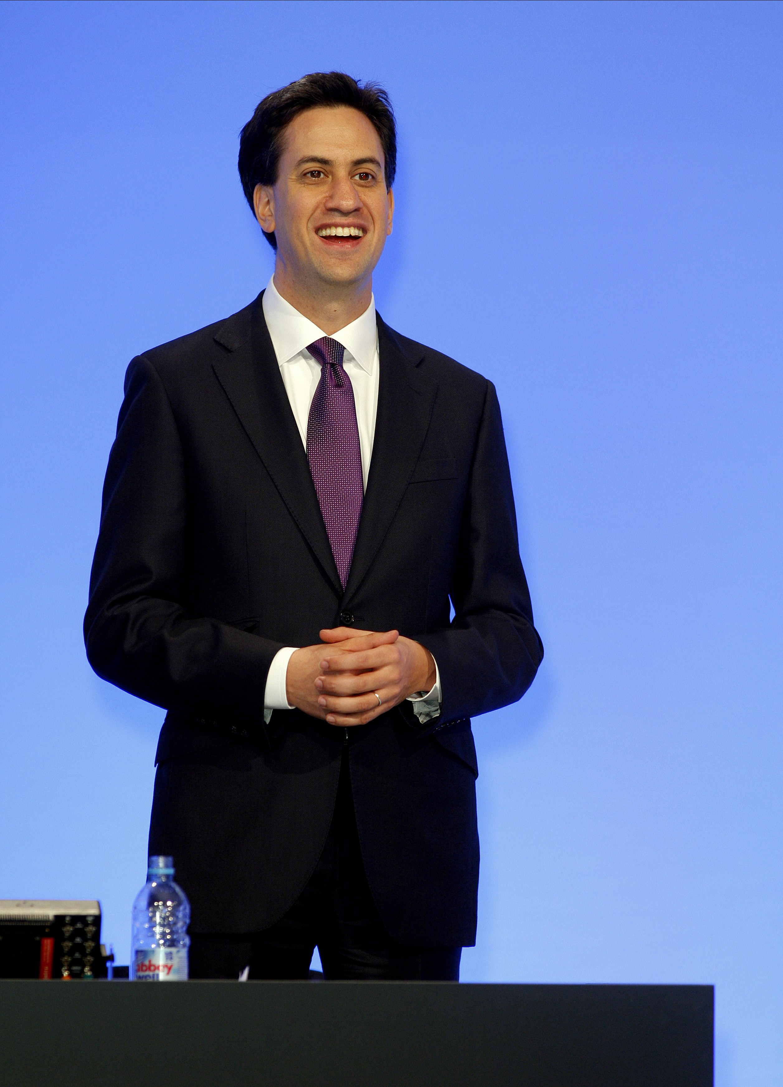 Ed Miliband at the Labour Party conference 2012