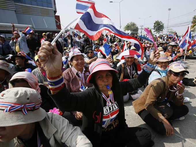 The Thai Protesters