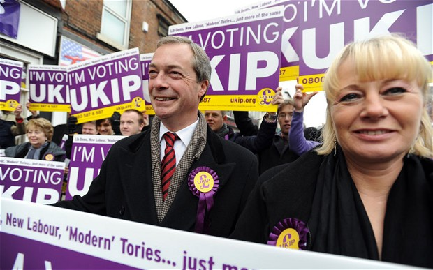 UKIP Leader Blames Media for an Attack on One OF the Important Party Members