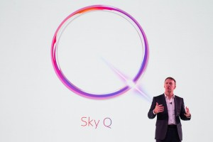 EDITORIAL USE ONLY Jeremy Darroch, Chief Executive at Sky, speaking on stage at the launch of Sky Q, which is SkyÕs next generation home entertainment system, Southbank, London. PRESS ASSOCIATION Photo. Picture date: Tuesday November 17, 2015. Photo credit should read: David Parry/PA Wire