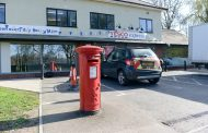 BRITAIN'S WORST PARKING SPACE IS BLOCKED IN BY POST BOX