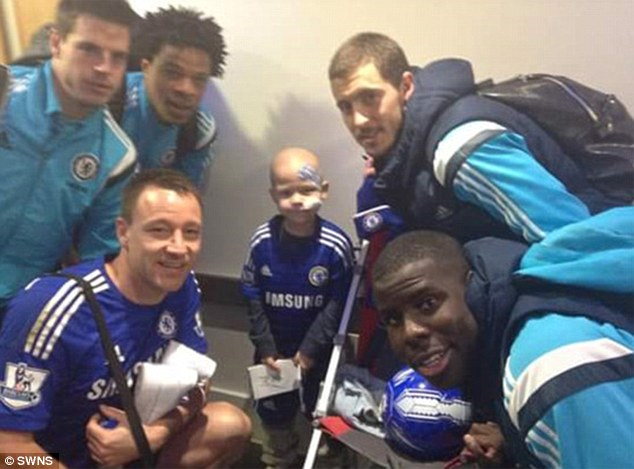 JOHN TERRY PAYS FOR FUNERAL OF EIGHT-YEAR-OLD WHO DIED OF LEUKAEMIA