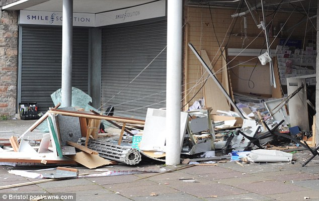 POST OFFICE WRECKED AS ANOTHER ATM BLOWN UP IN LATEST RAID