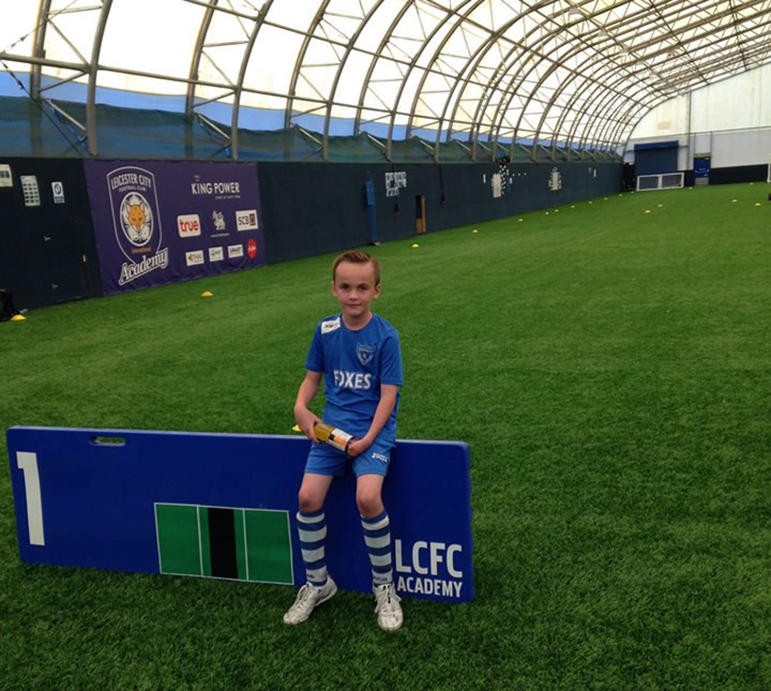 ROBOTIC HAND COULD HELP BOY BECOME UK'S FIRST DISABLED FOOTBALLER
