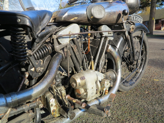 UNRESTORED BROUGH BIKE COULD BECOME £350,000 RECORD BREAKER