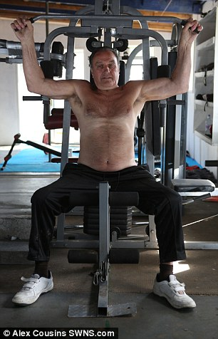 75 YEAR OLD GREAT GRANDDAD PUTS IMPRESSIVE FITNESS DOWN TO HARD GRAFT