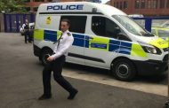 MAN THREW RUBBISH AT PASSING POLICE CAR TO TRY AND SHOW OFF TO NEW GIRLFRIEND