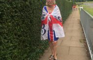 GRANDMOTHER PREVENTED FROM VOTING FOR WEARING UNION JACK DRESS