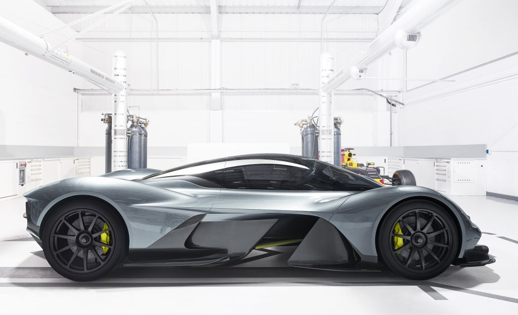 ASTON MARTIN UNVEILS ONE OF BRITAIN'S MOST AMBITIOUS CARS