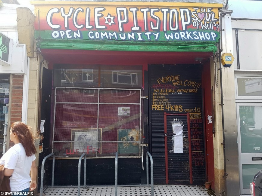 CYCLING SHOP CLOSED AFTER OWNER PLAYED BOB MARLEY TOO MUCH