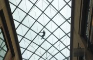 LABOURER PASSES OUT ON GLASS ROOF OF CITY SHOPPING CENTRE AFTER DOWNING SIX PINTS TO CELEBRATE NEW JOB