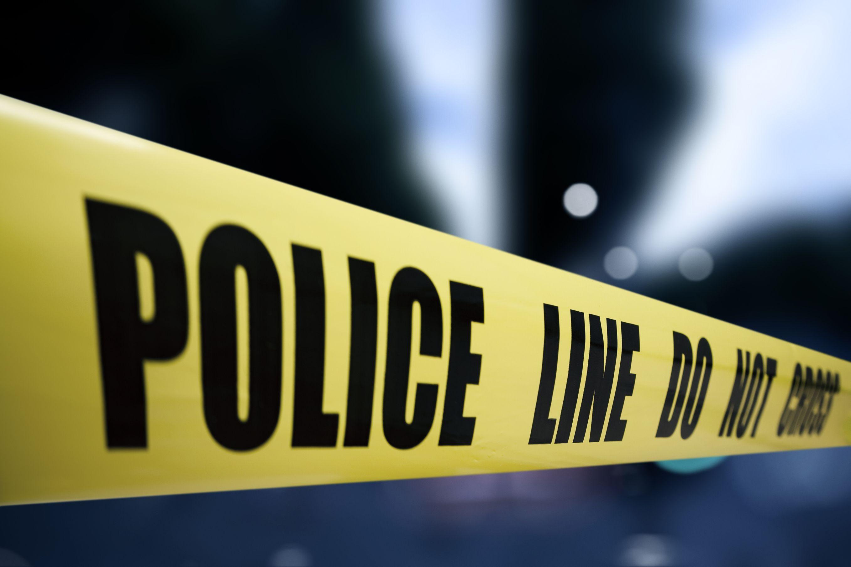 Image of police crime scene tape