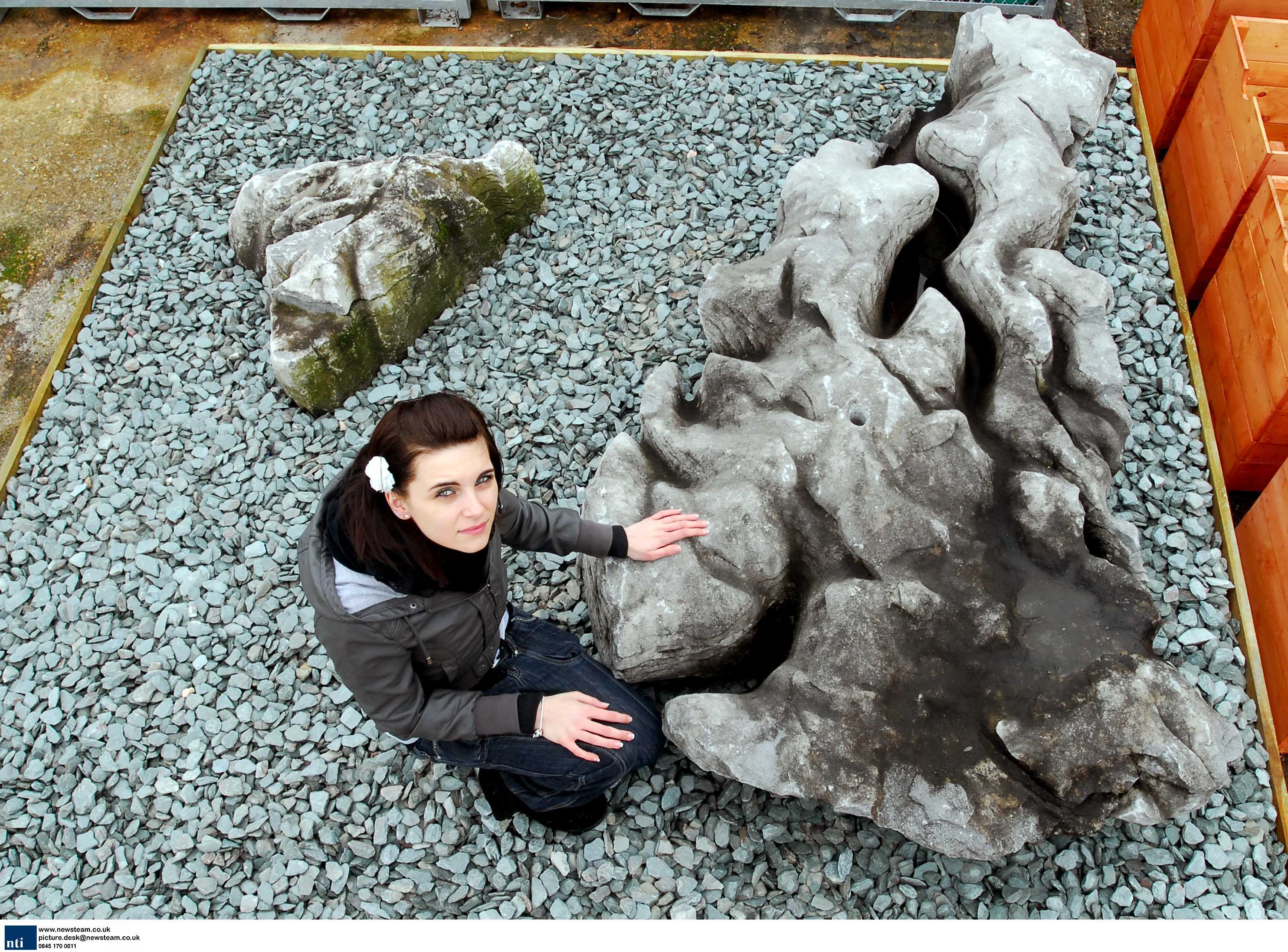 Rock naturally shaped like the UK