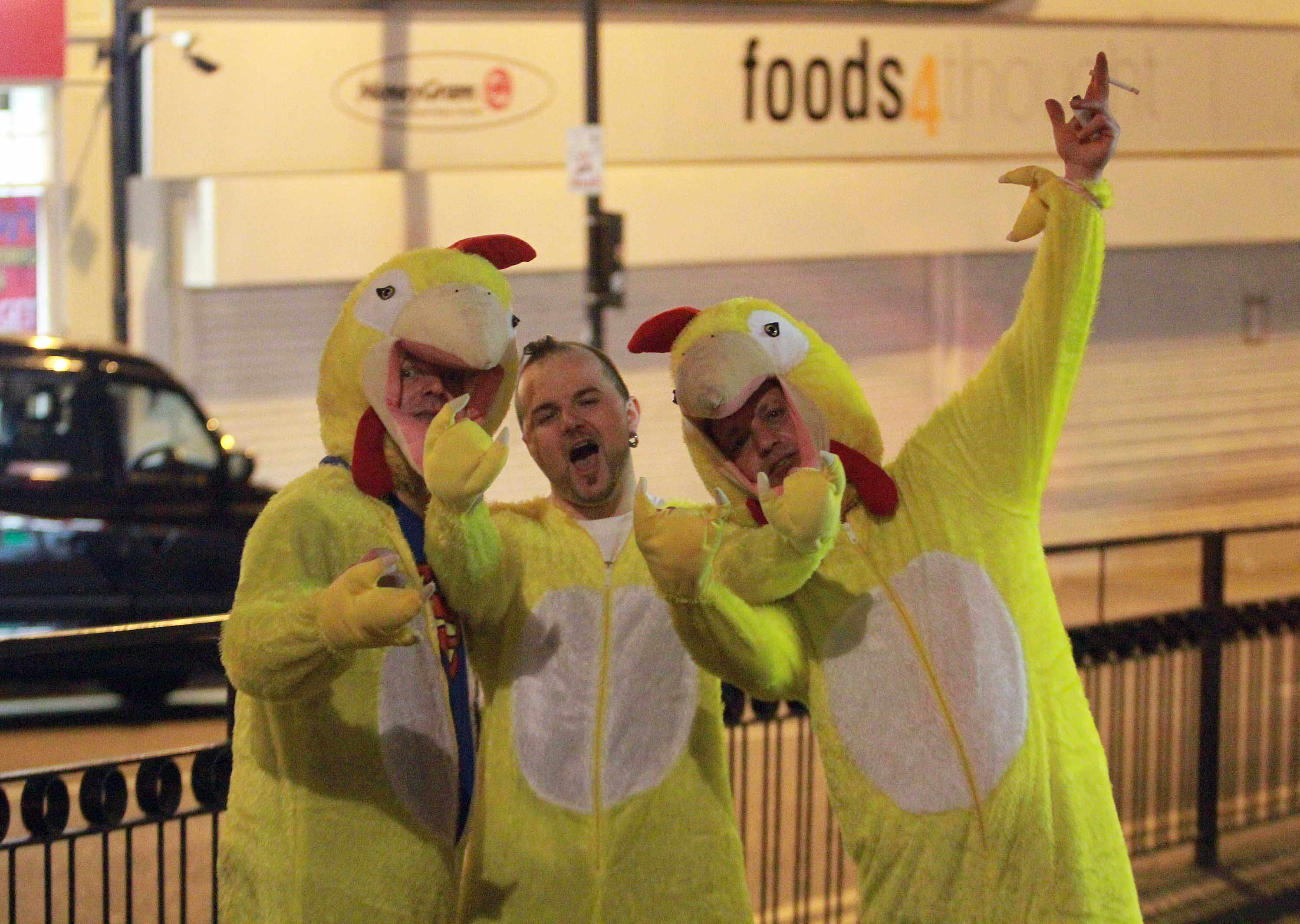 Wolverhampton's busy Saturday night