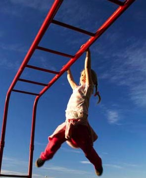 Kids banned from playground