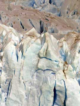 Bin Laden face appears in glacier