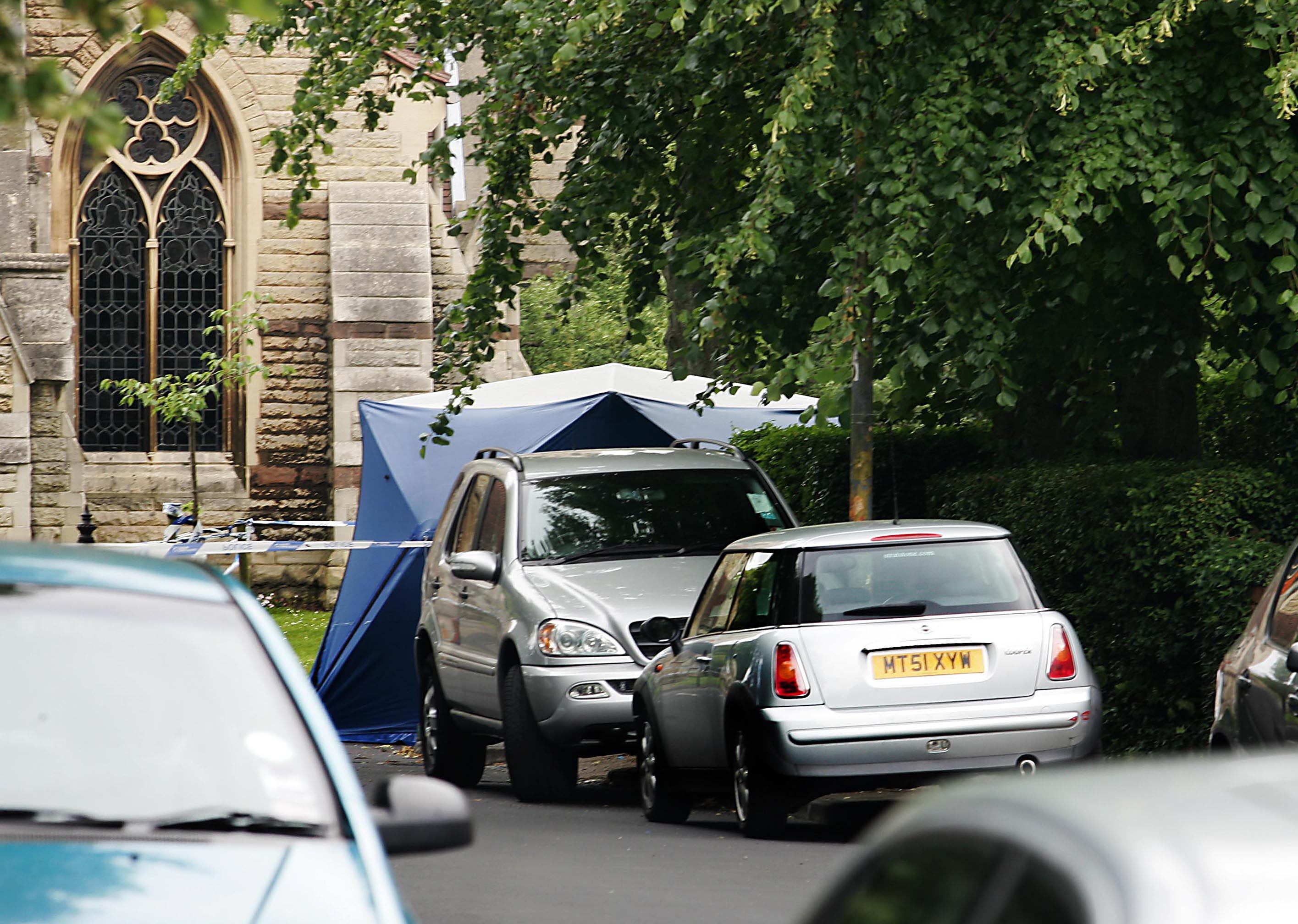 Murder in affluent Birmingham suburb