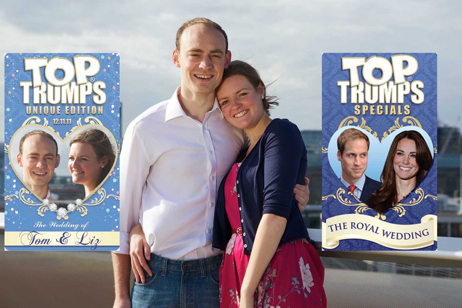 Top trumps wedding