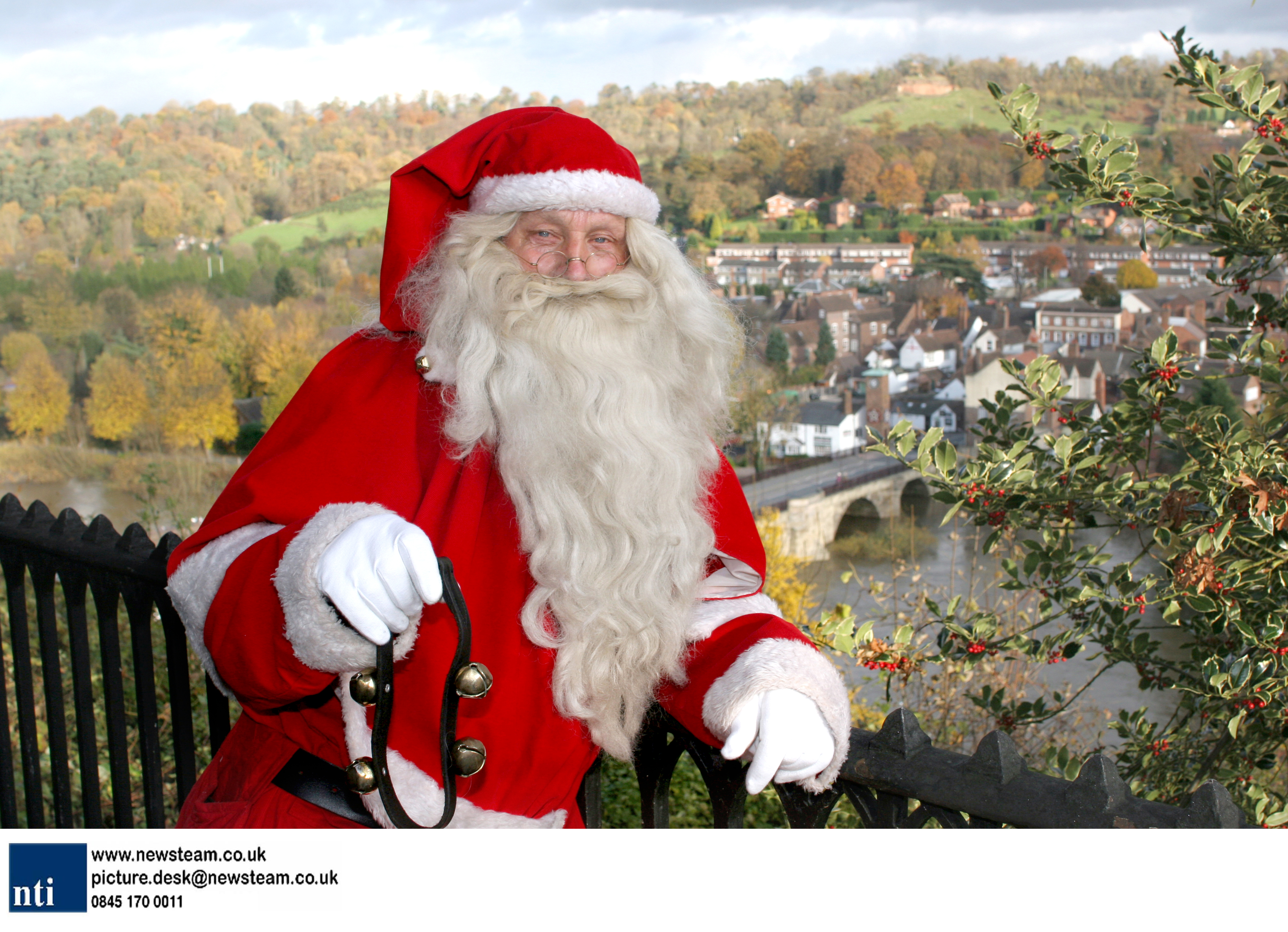 Is this the longest serving Santa in the UK?