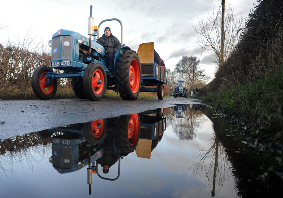 Tractors of yesteryear raise cash for Air Ambulance