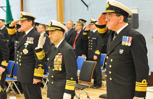 UK admiral Peter Hudson takes over NATO Maritime Headquarters