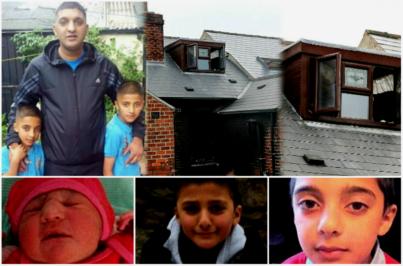 Three Generations of a Family Killed by Fire in Sheffield