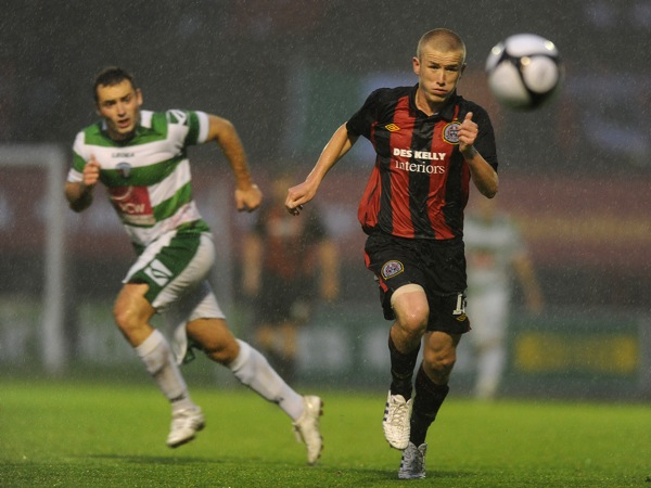 Soccer - UEFA Champions League - Second Qualifying Round - First Leg - Bohemians v The New Saints - Dalymount Park