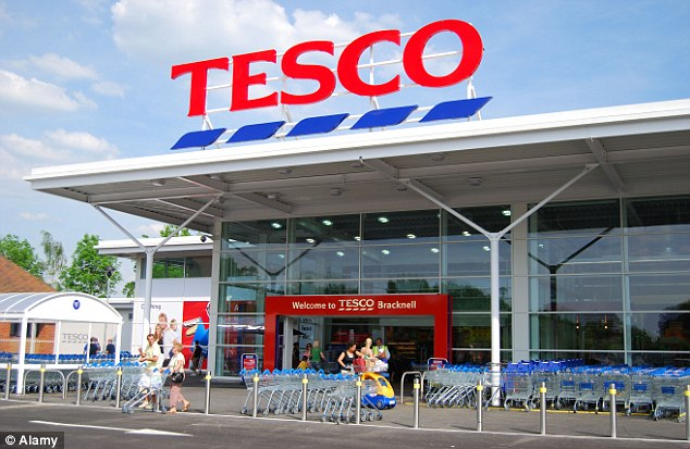 Tesco's sales take another hit